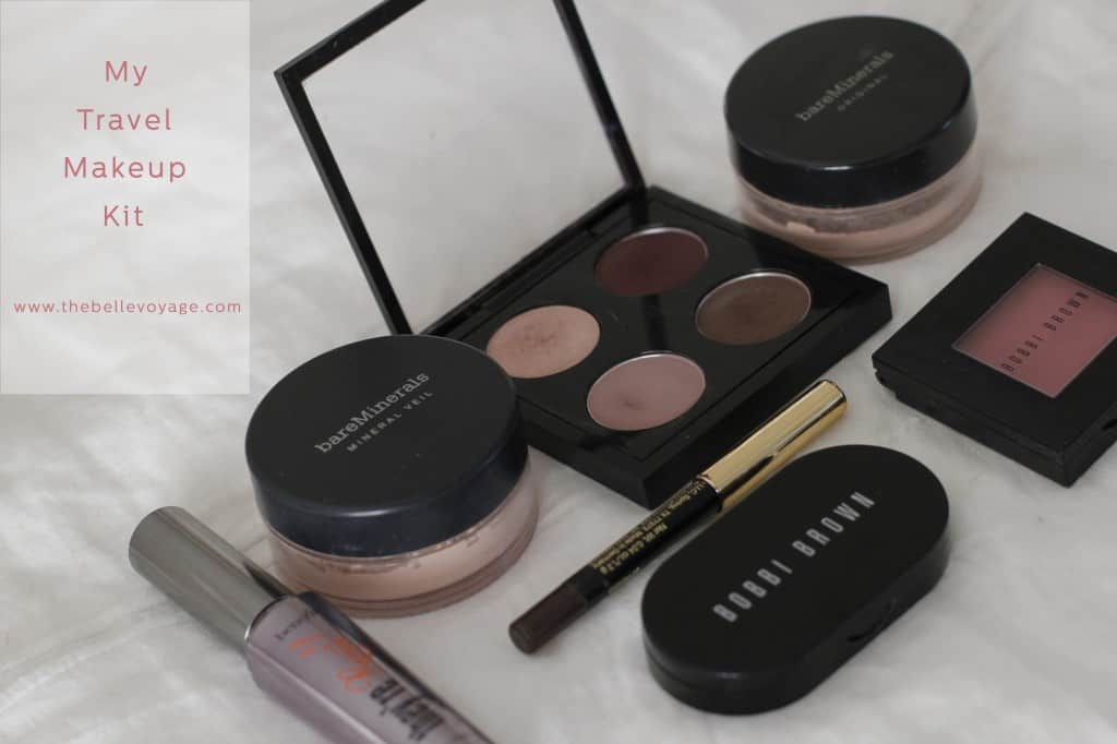 Travel makeup kit