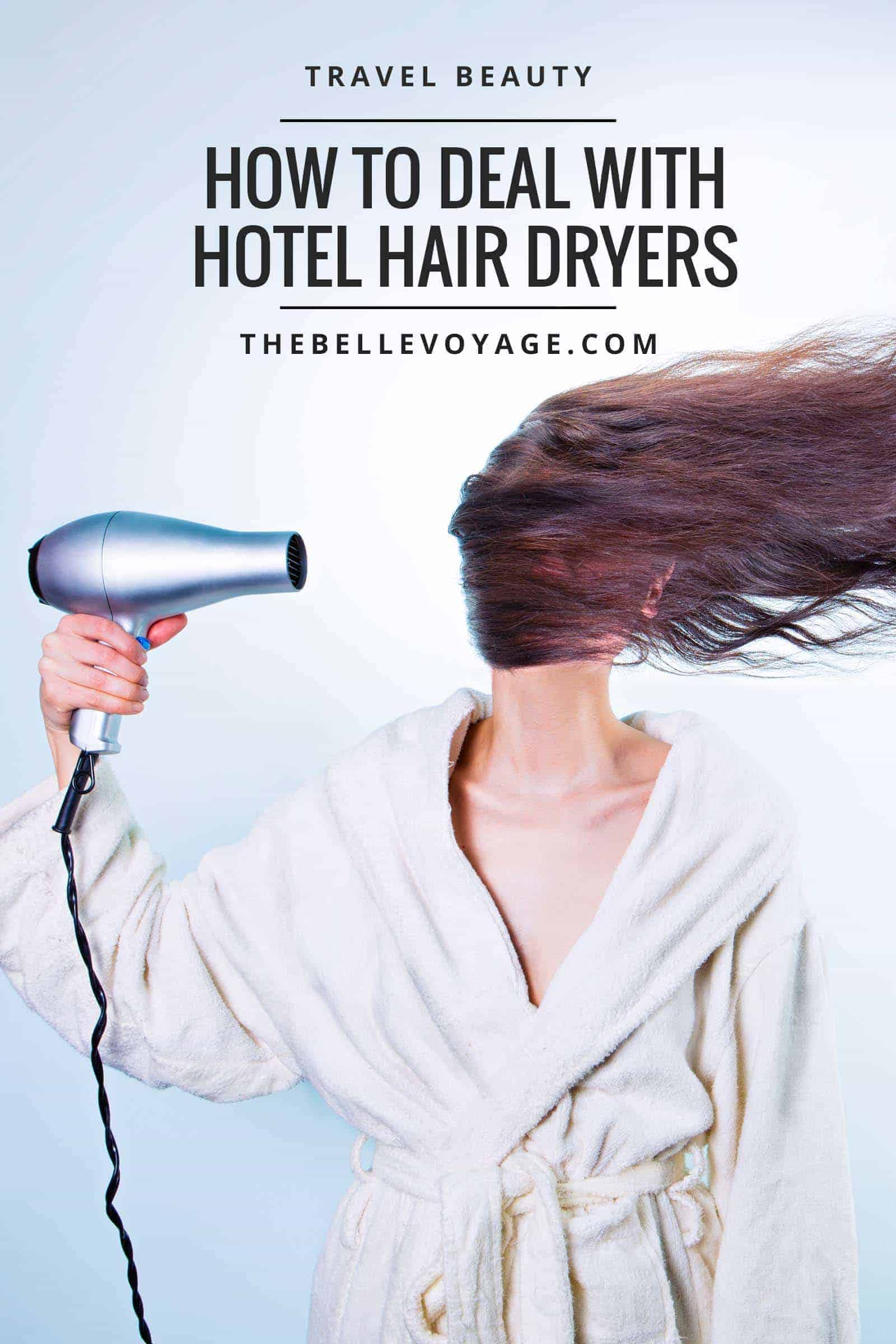 hotel hair dryers travel beauty