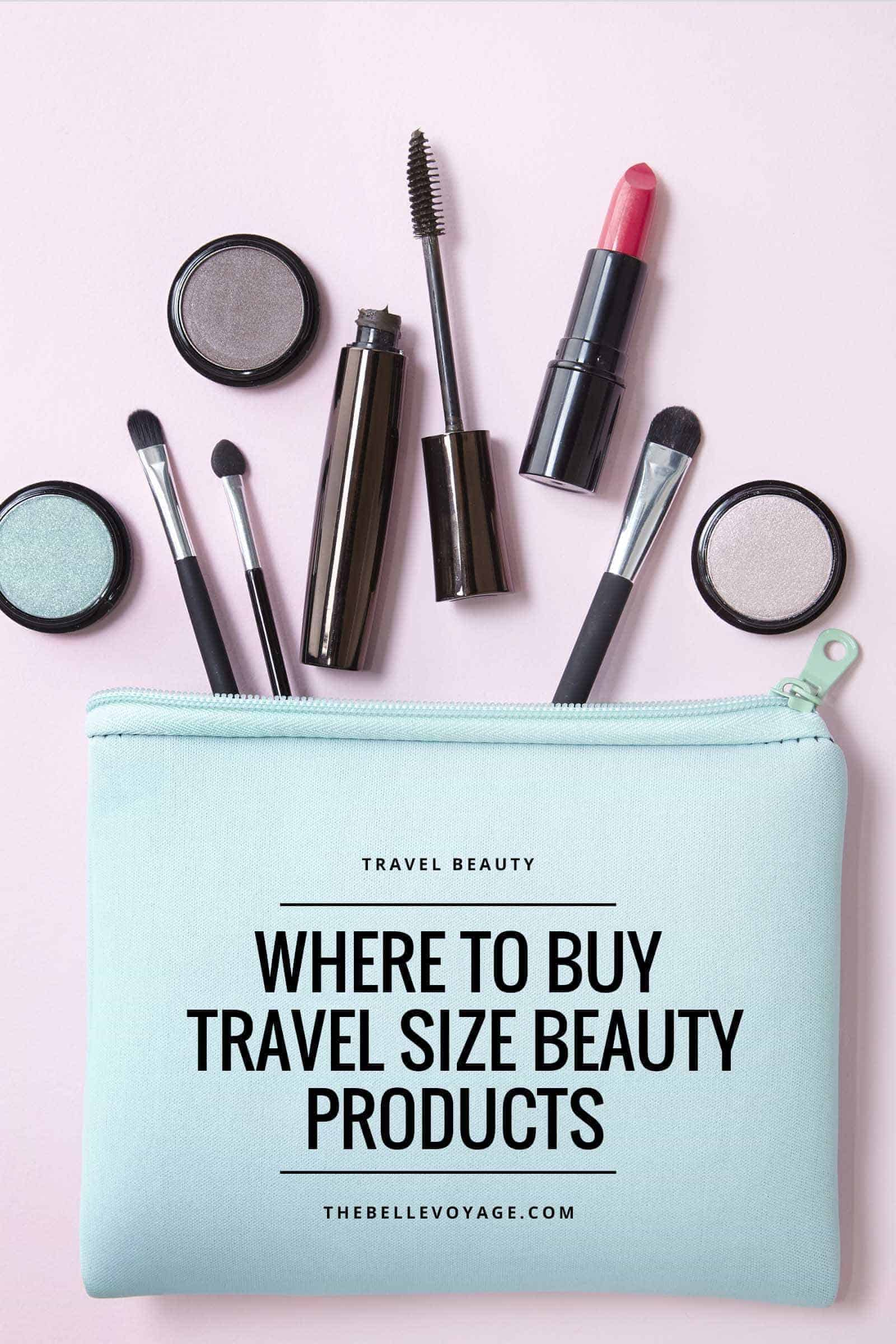 Mini Me: Where to Find Travel Size Beauty Products | The Belle Voyage