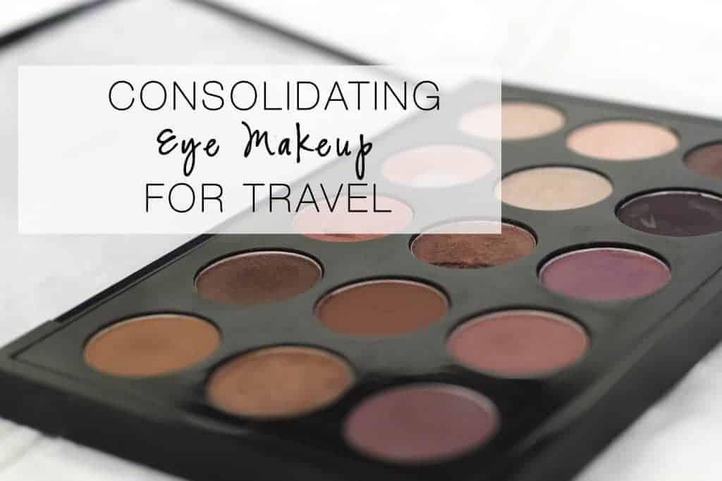 Eyemakeup for travel