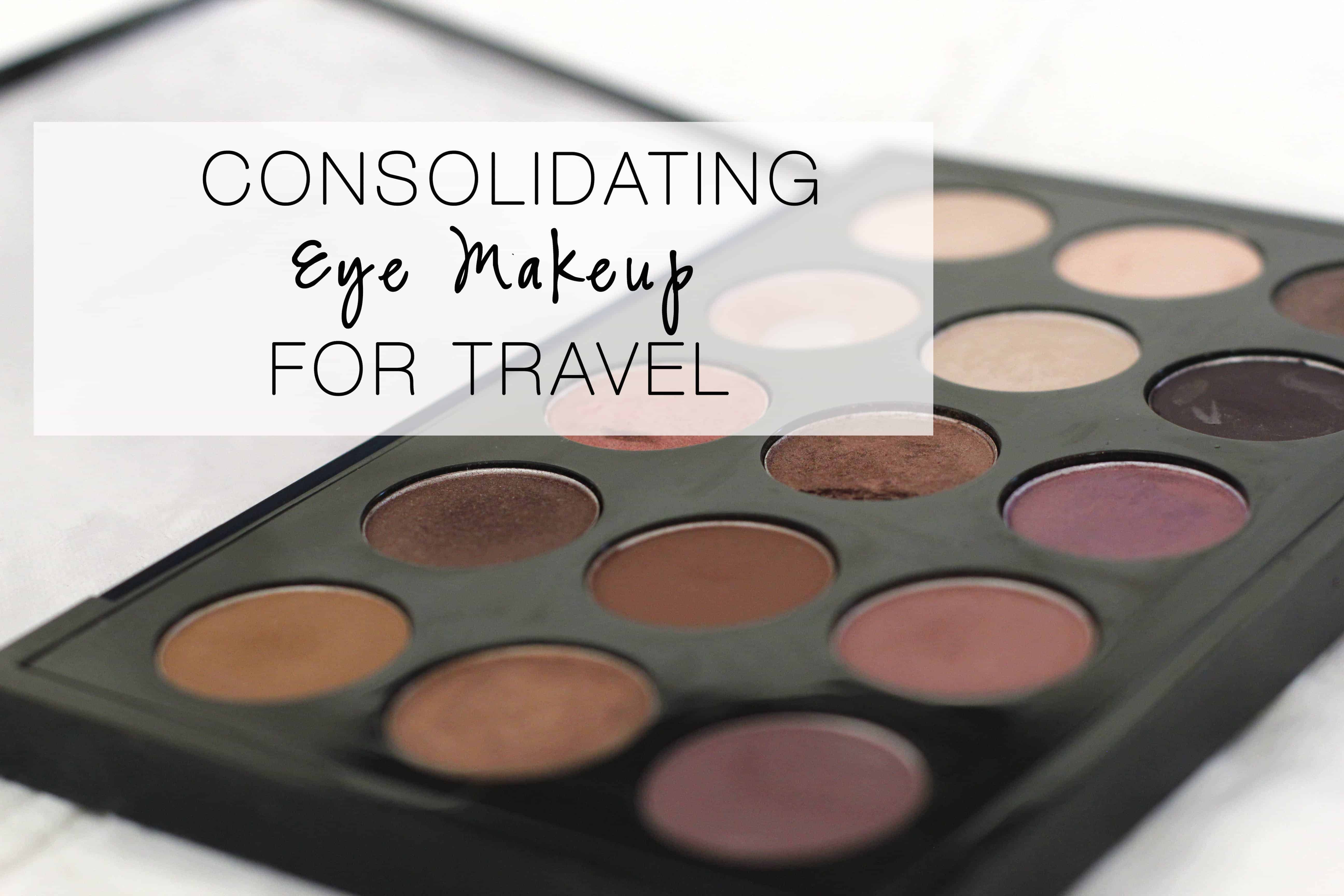 Eyemakeup for travel