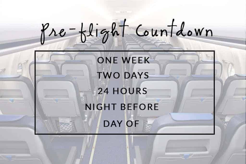 Pre Flight Countdown