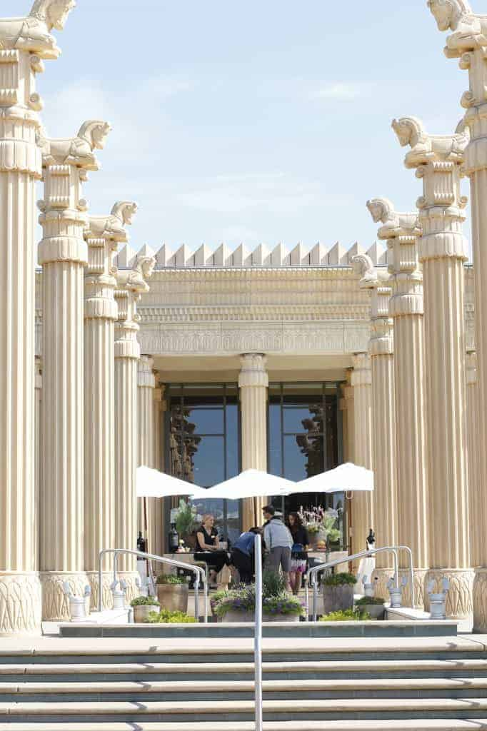 Darioush winery entrance