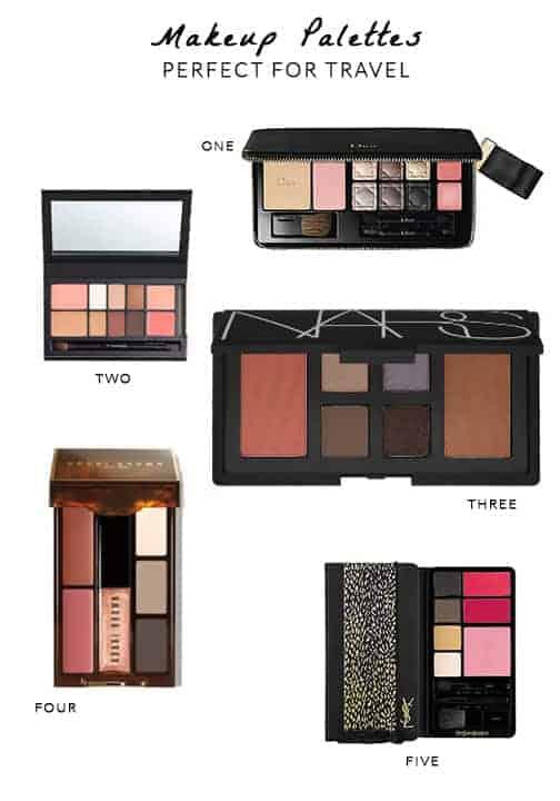 Travel Makeup Palettes