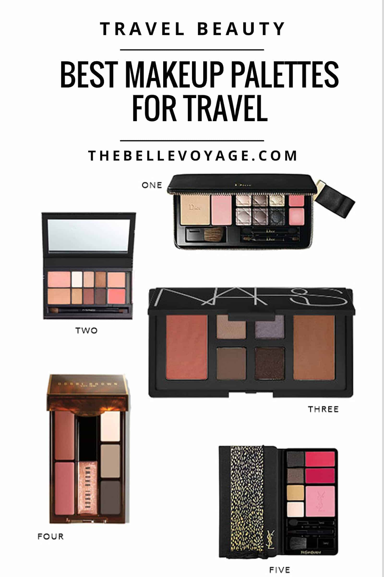 best makeup palettes for travel beauty