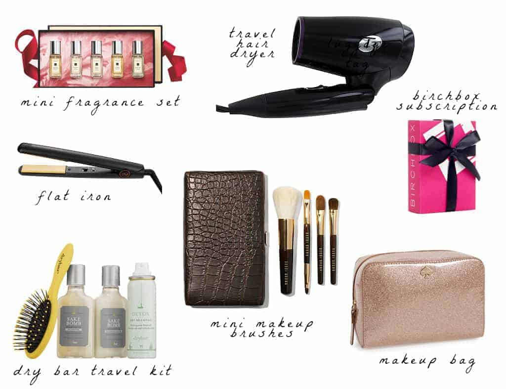 Holiday Gift Guide Travel Beauty Accessories 2