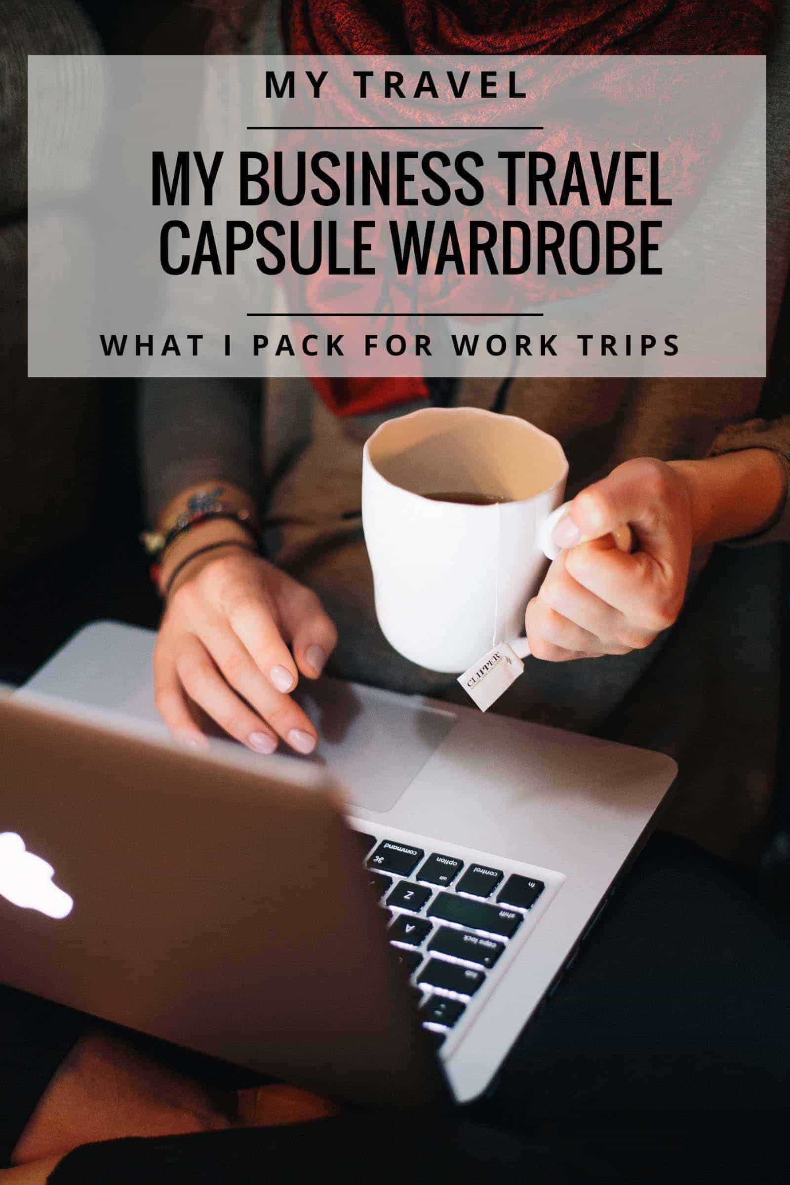 business travel capsule wardrobe