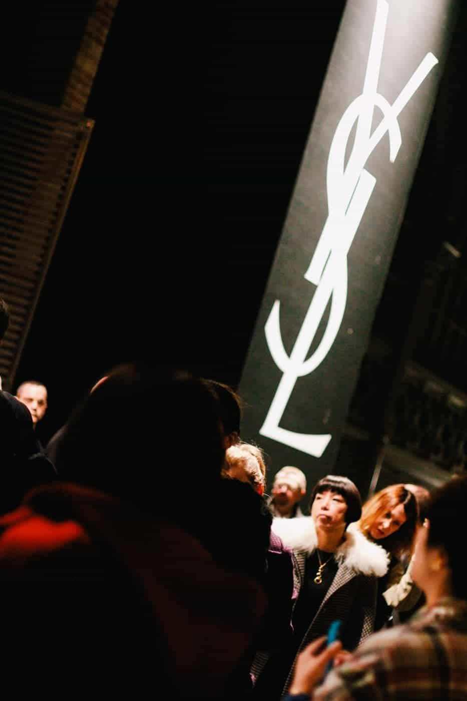 YSL Paris Fashion Week-2
