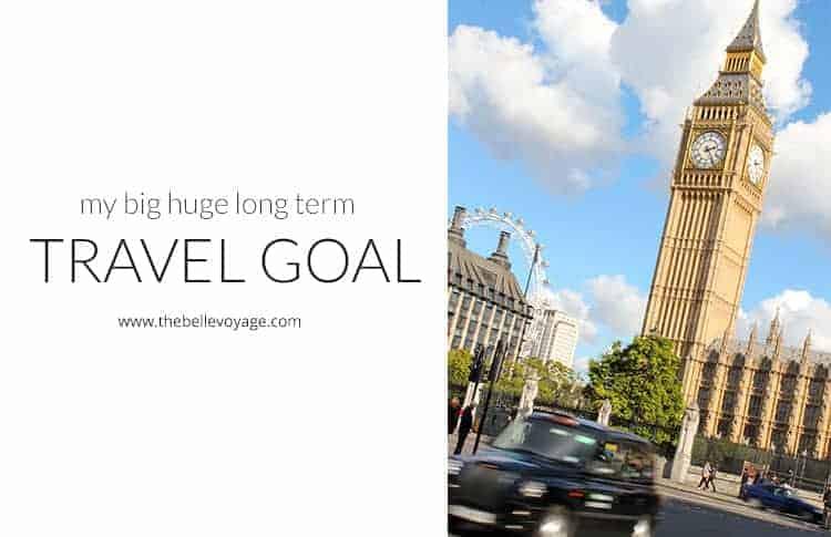 travel goal