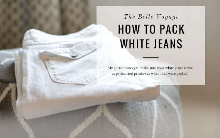 packing jeans