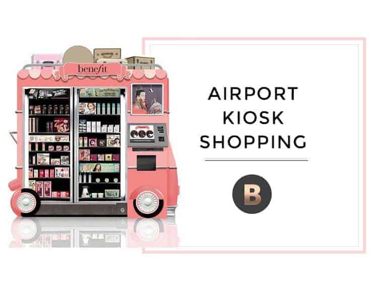 airport kiosk shopping