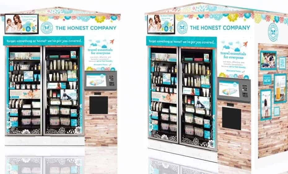 honest company airport kiosk
