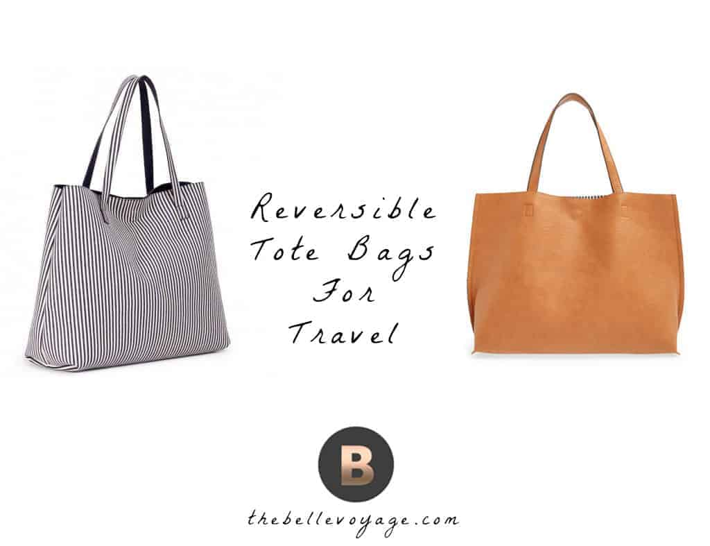 reversible tote bags for travel