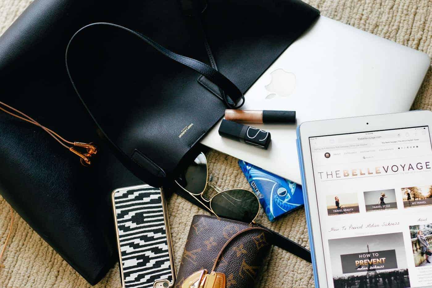 travel tote bag. iPad  For a long time e7f8e02710601