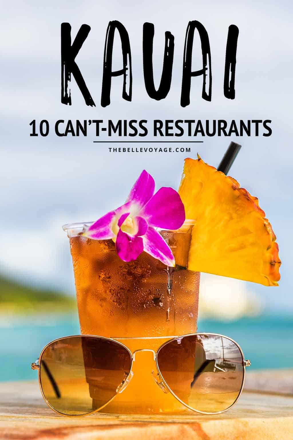 best restaurants in kauai