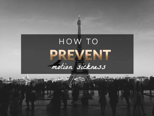 prevent motion sickness