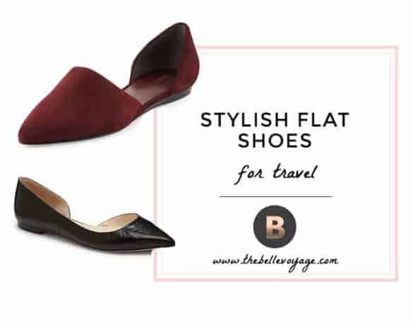 stylish flat shoes for travel
