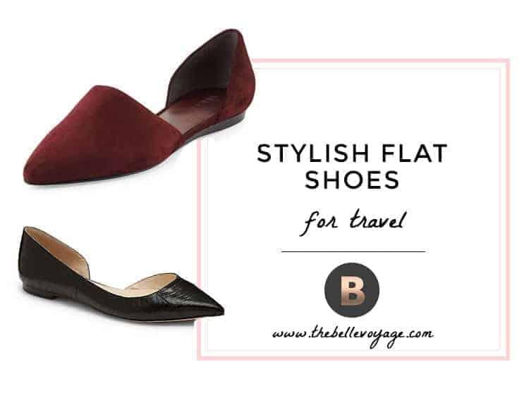 stylish flat shoes for travel