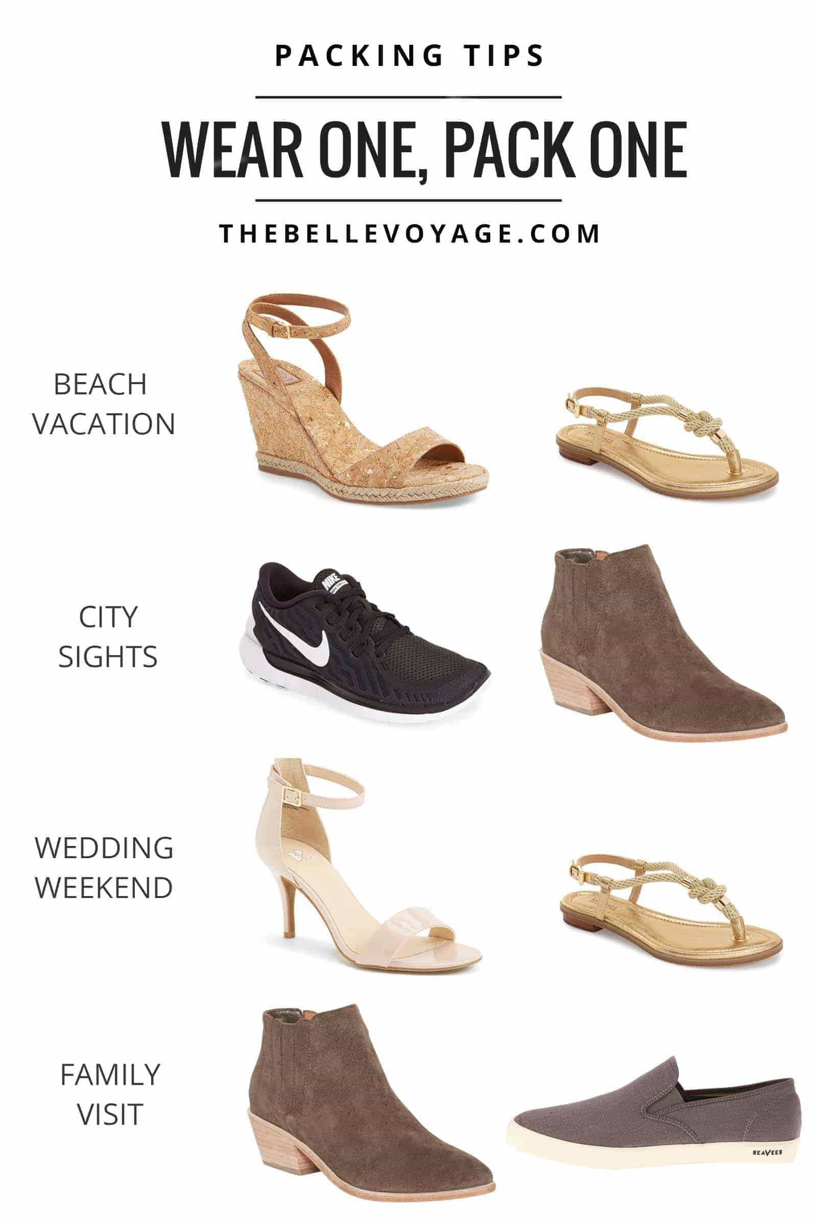 Packing Shoes For Travel The Belle Voyage