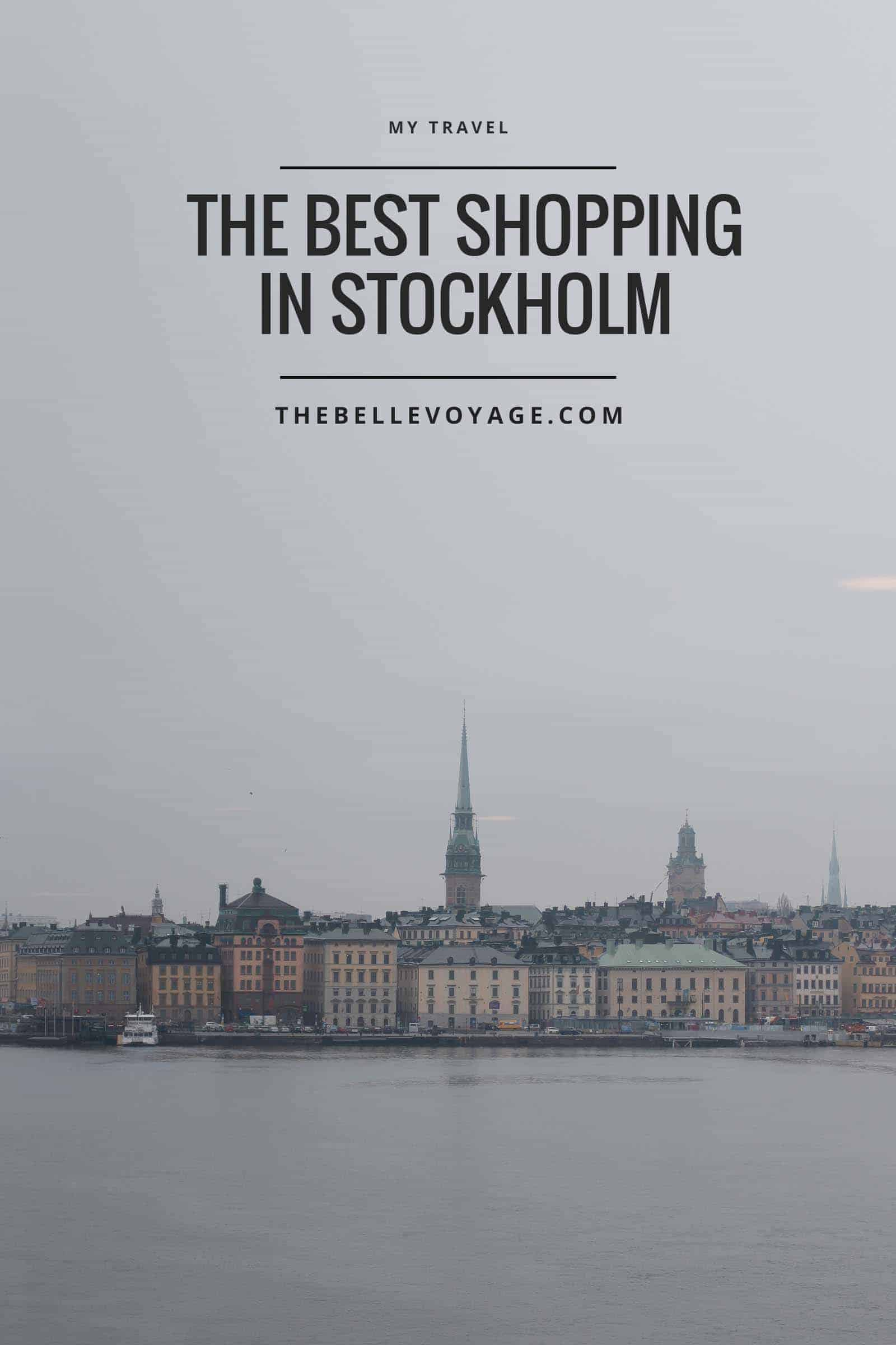 where to shop in stockholm