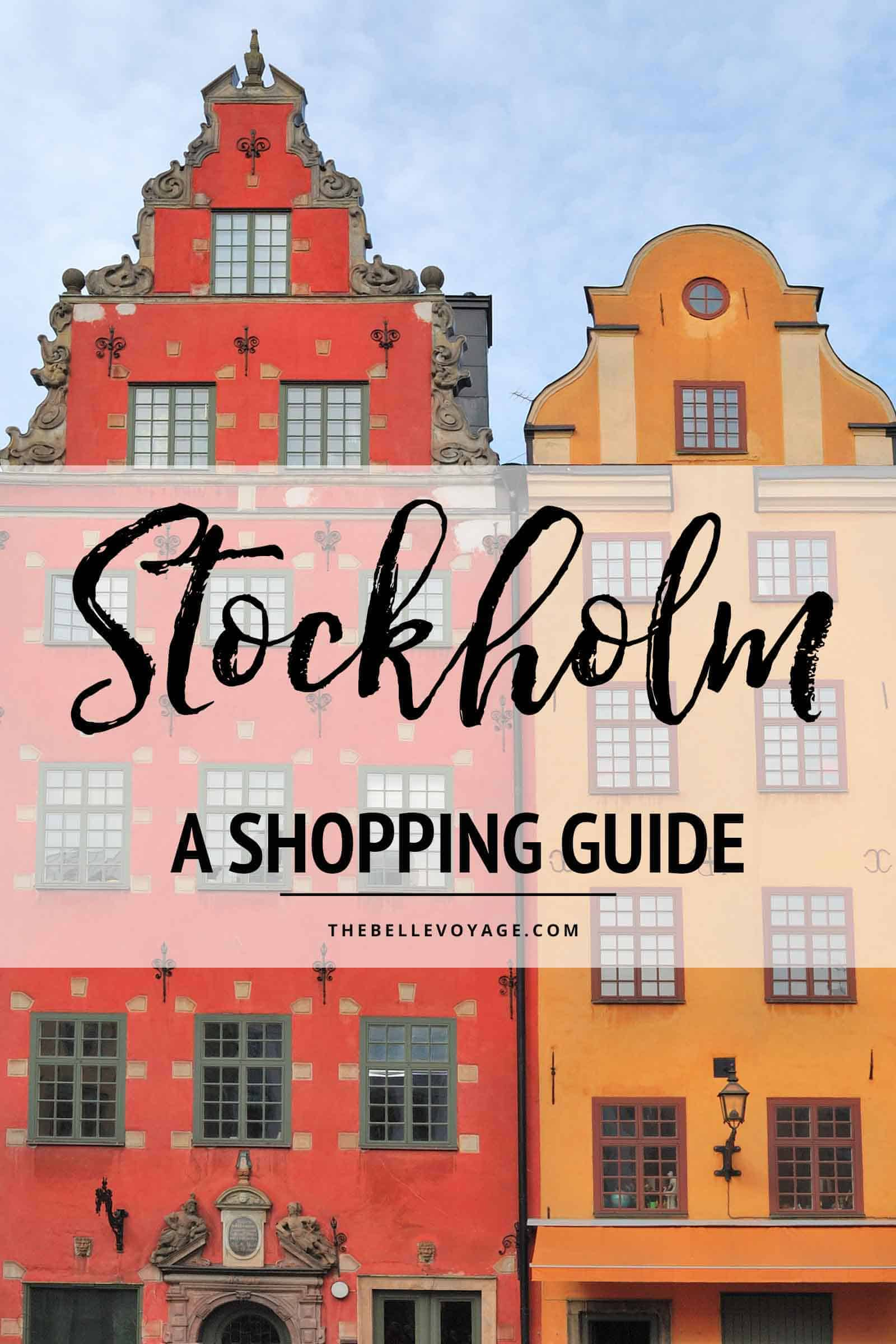 stockholm sweden travel guide itinerary