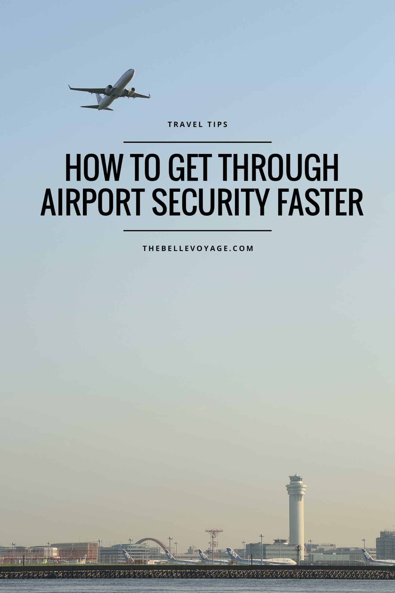 airport security wait times