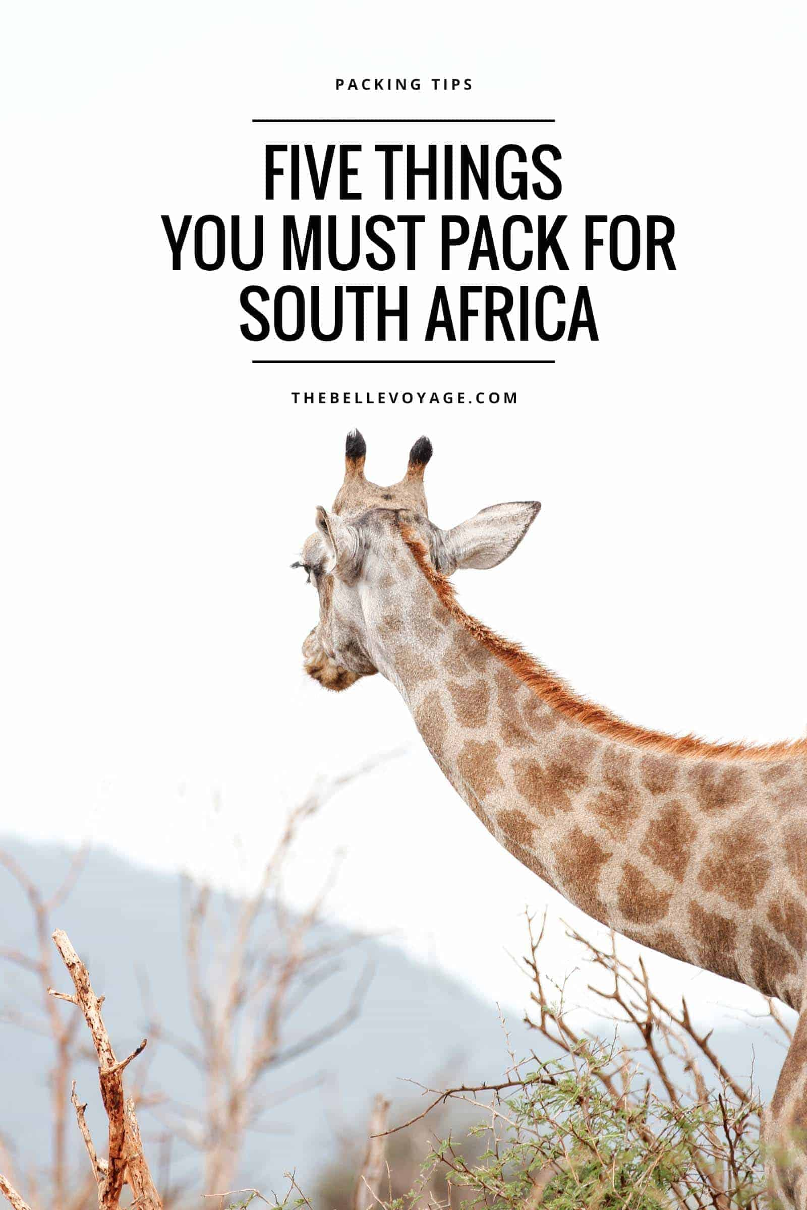 south africa packing