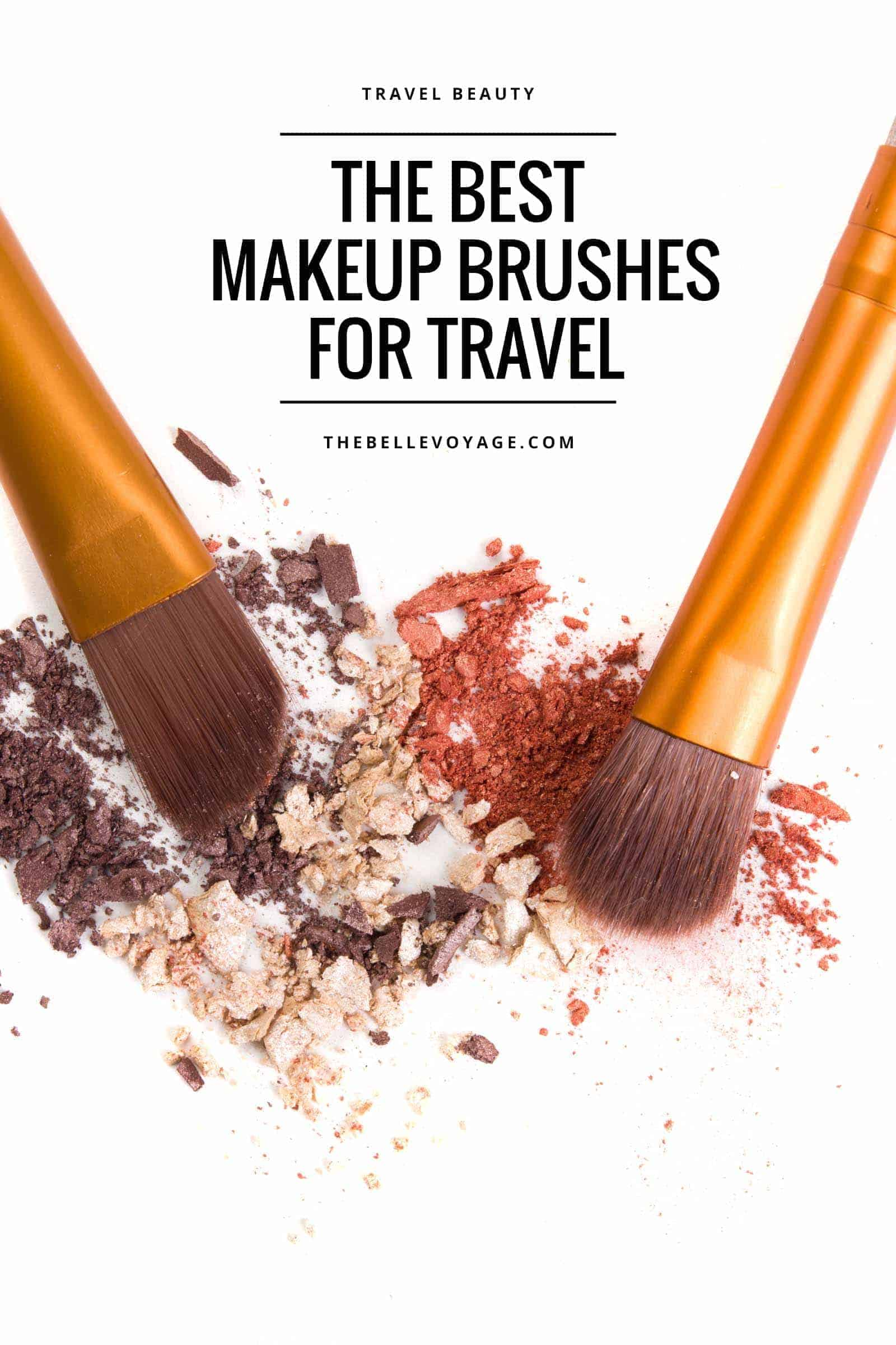 travel beauty essentials makeup brushes