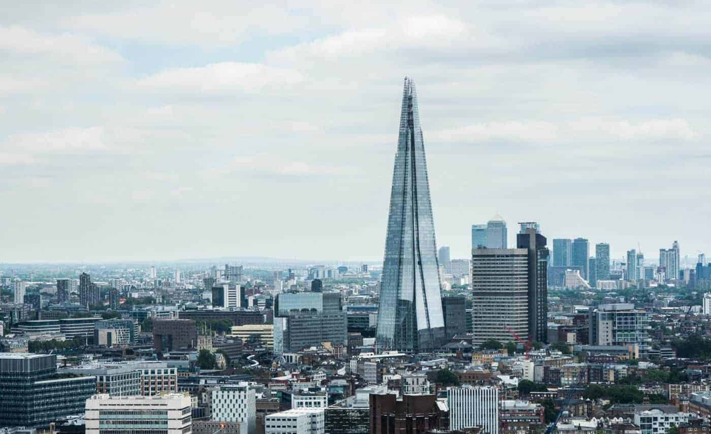 london itinerary travel guide shard