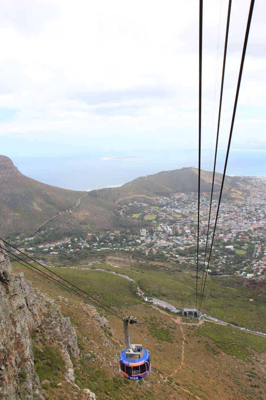 table mountain cape town itinerary