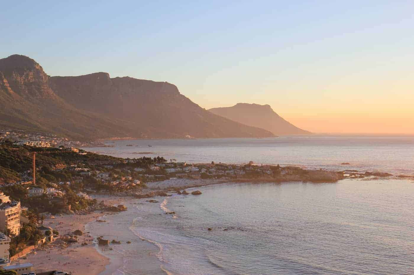 camps bay cape town itinerary