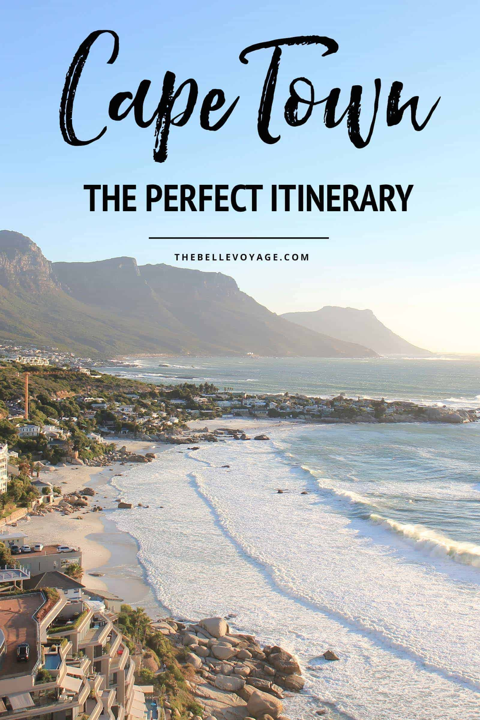 cape town travel guide itinerary