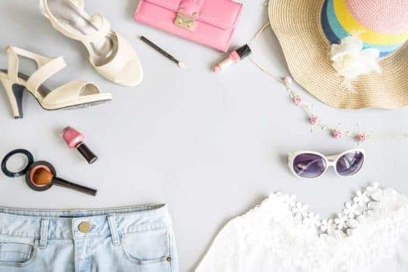 summer travel outfits packing
