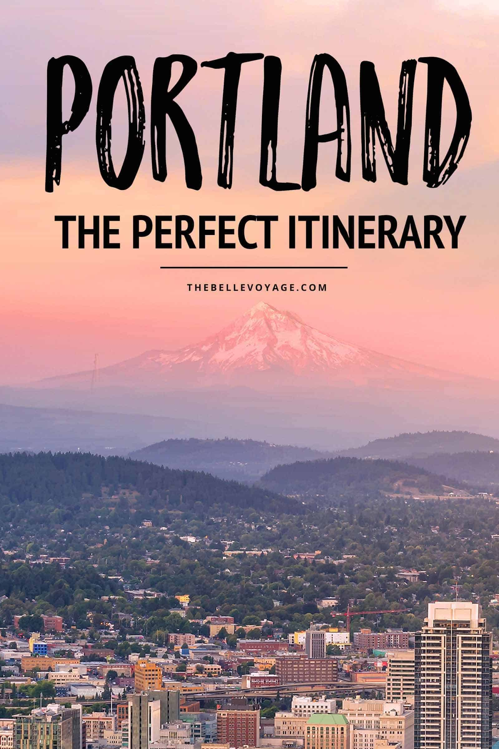 portland oregon travel guide itinerary