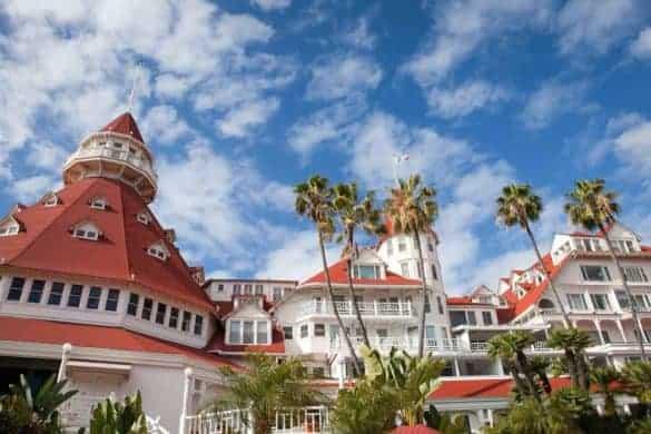 San Diego beachfront hotel
