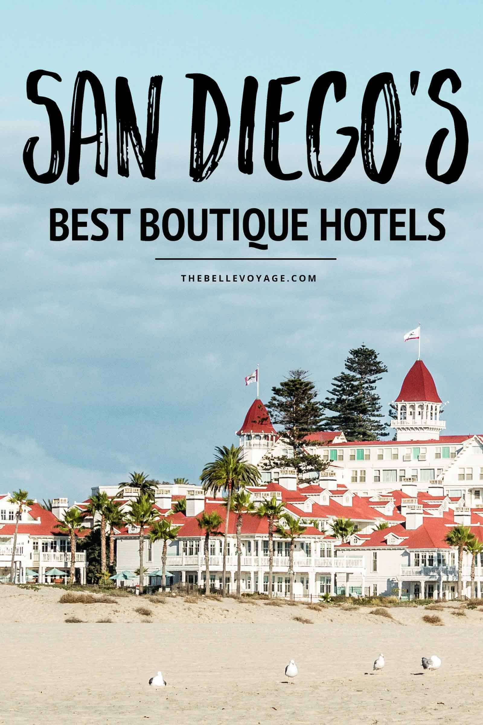 san diego California travel where to stay