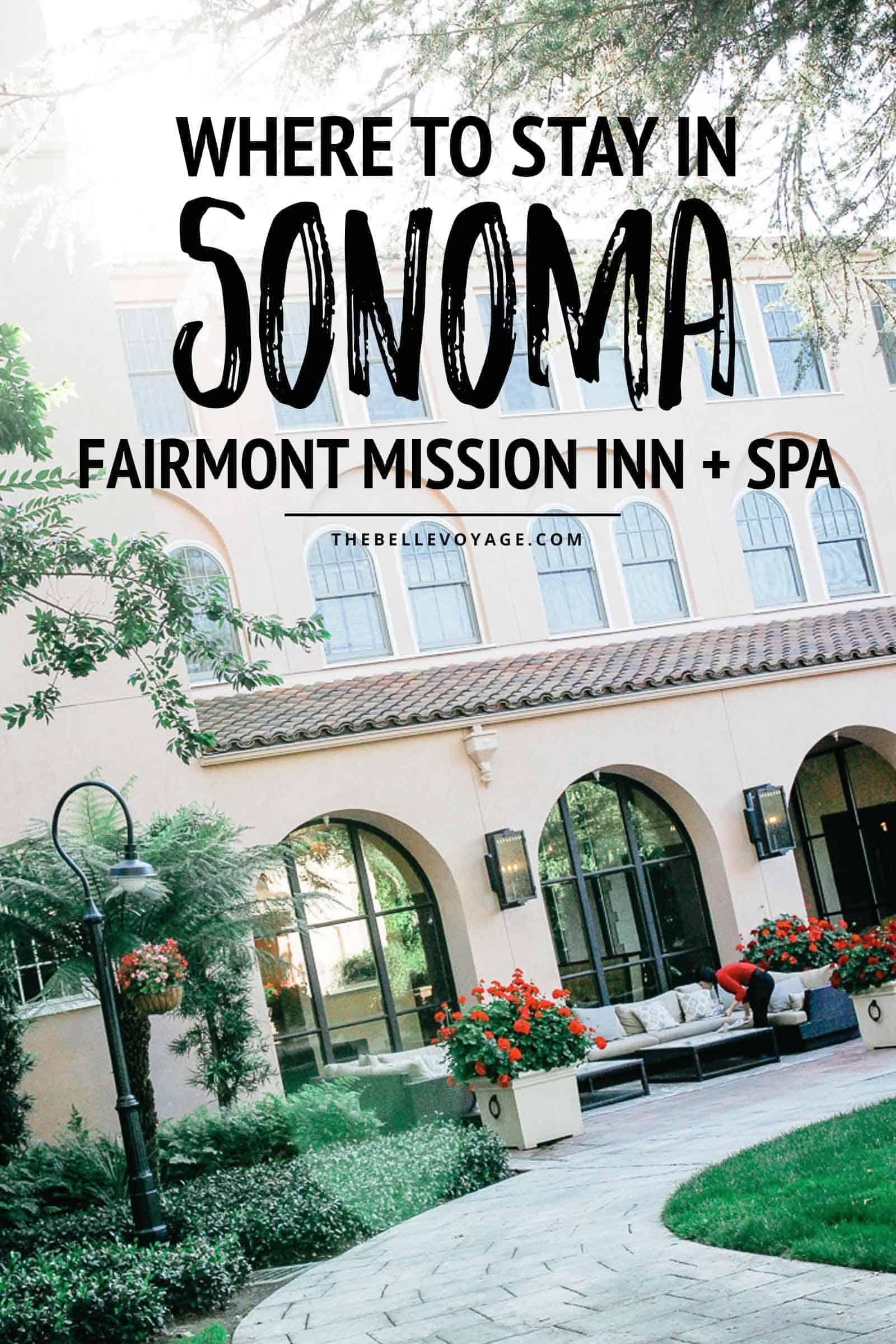 sonoma valley california hotels