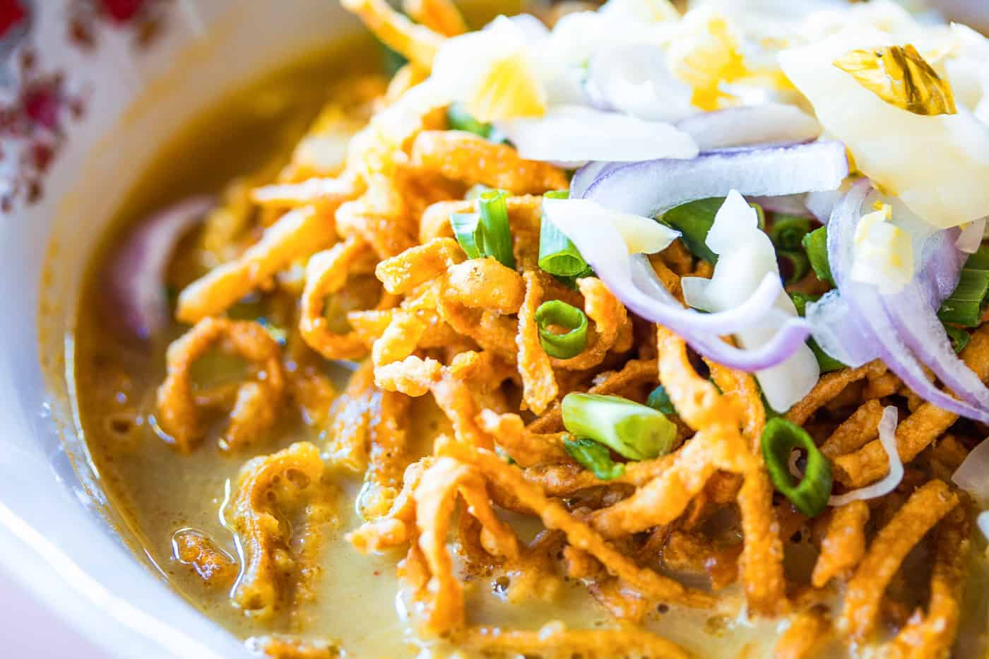 Chiang mai itinerary travel guide Khao soi