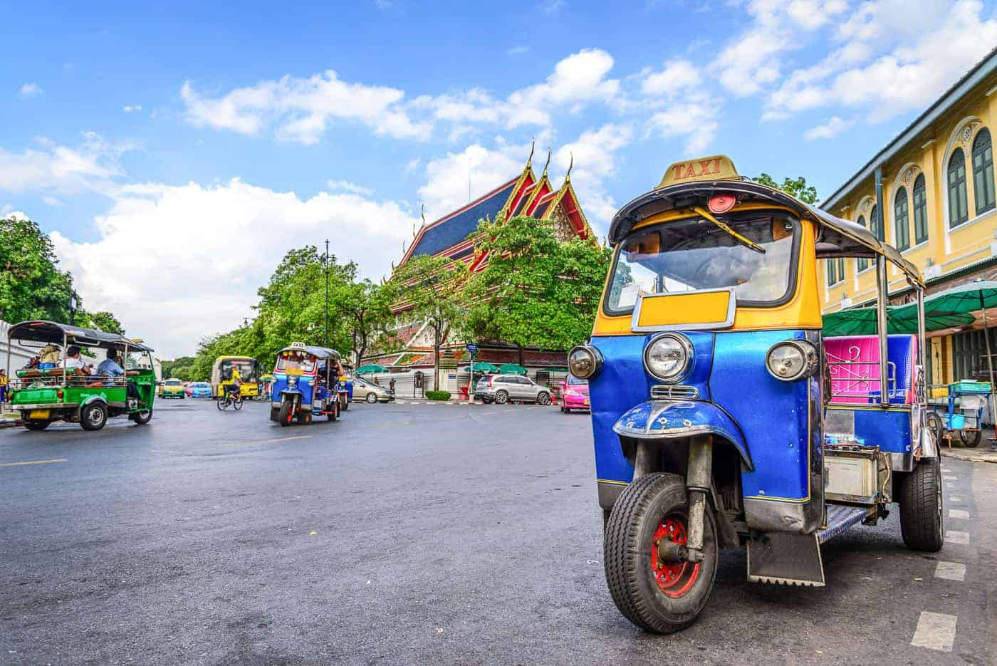 getting around Chiang mai
