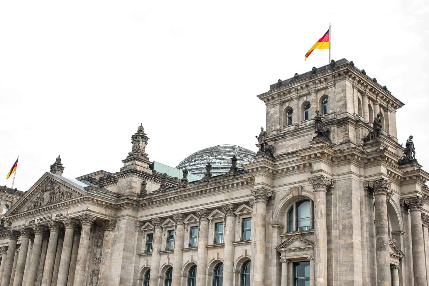 Berlin itinerary reichstag