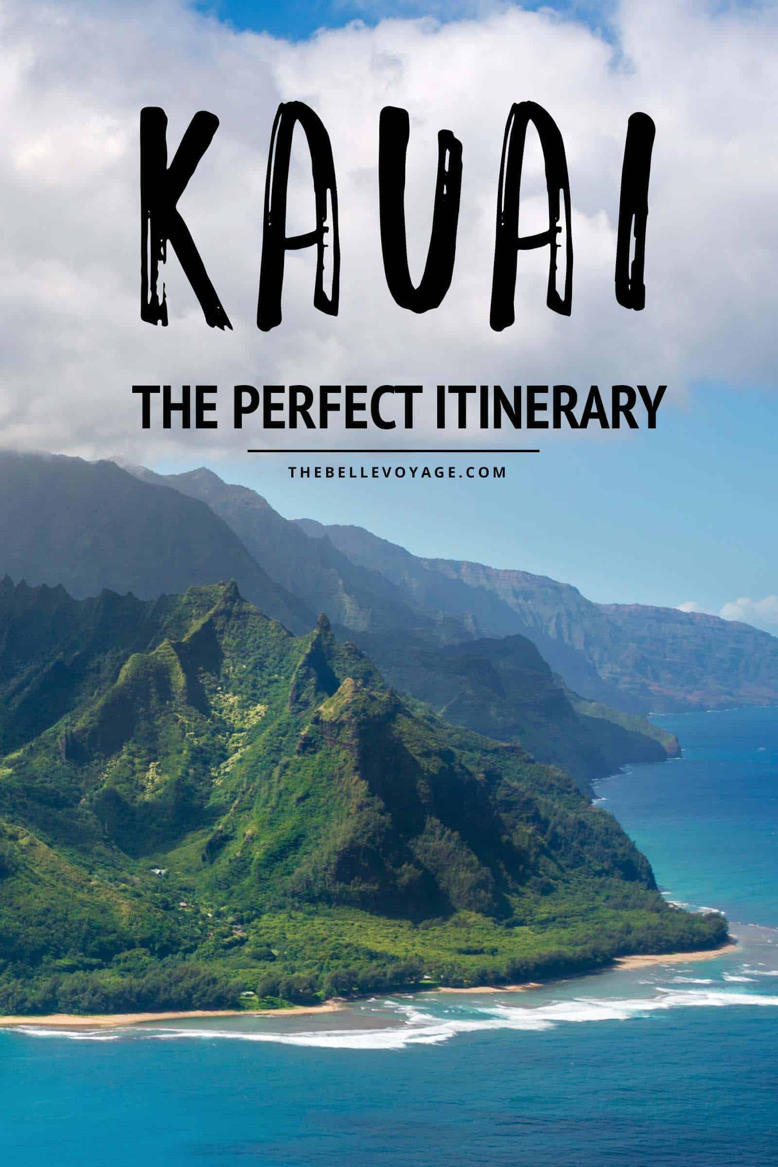 kauai travel guide itinerary
