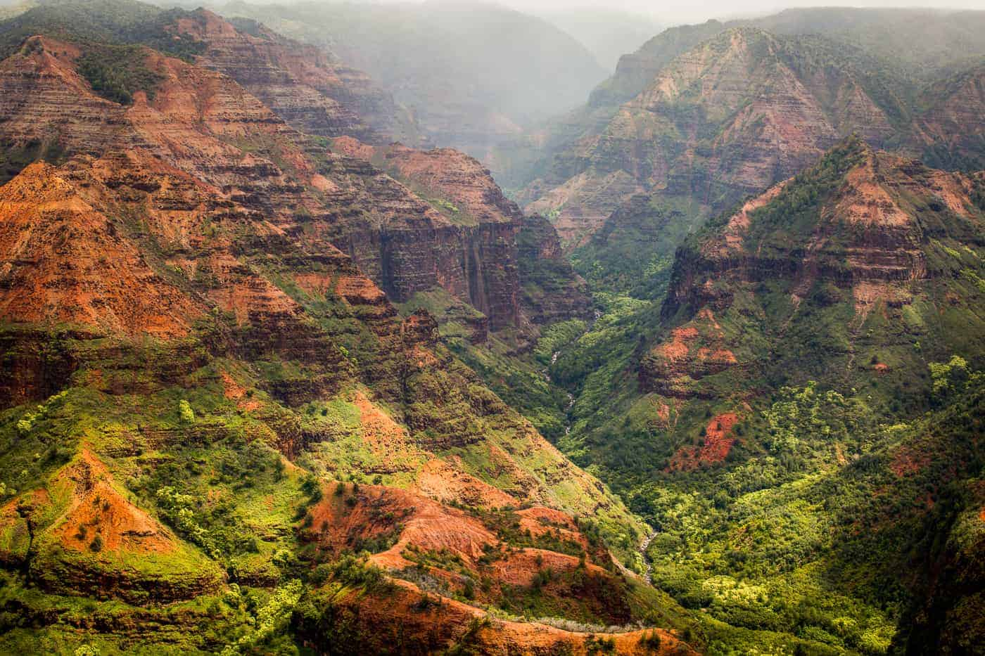 kauai travel guide Waimea canyon