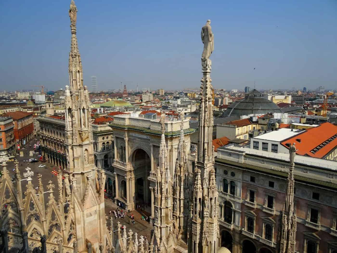 Visiting Milan Italy