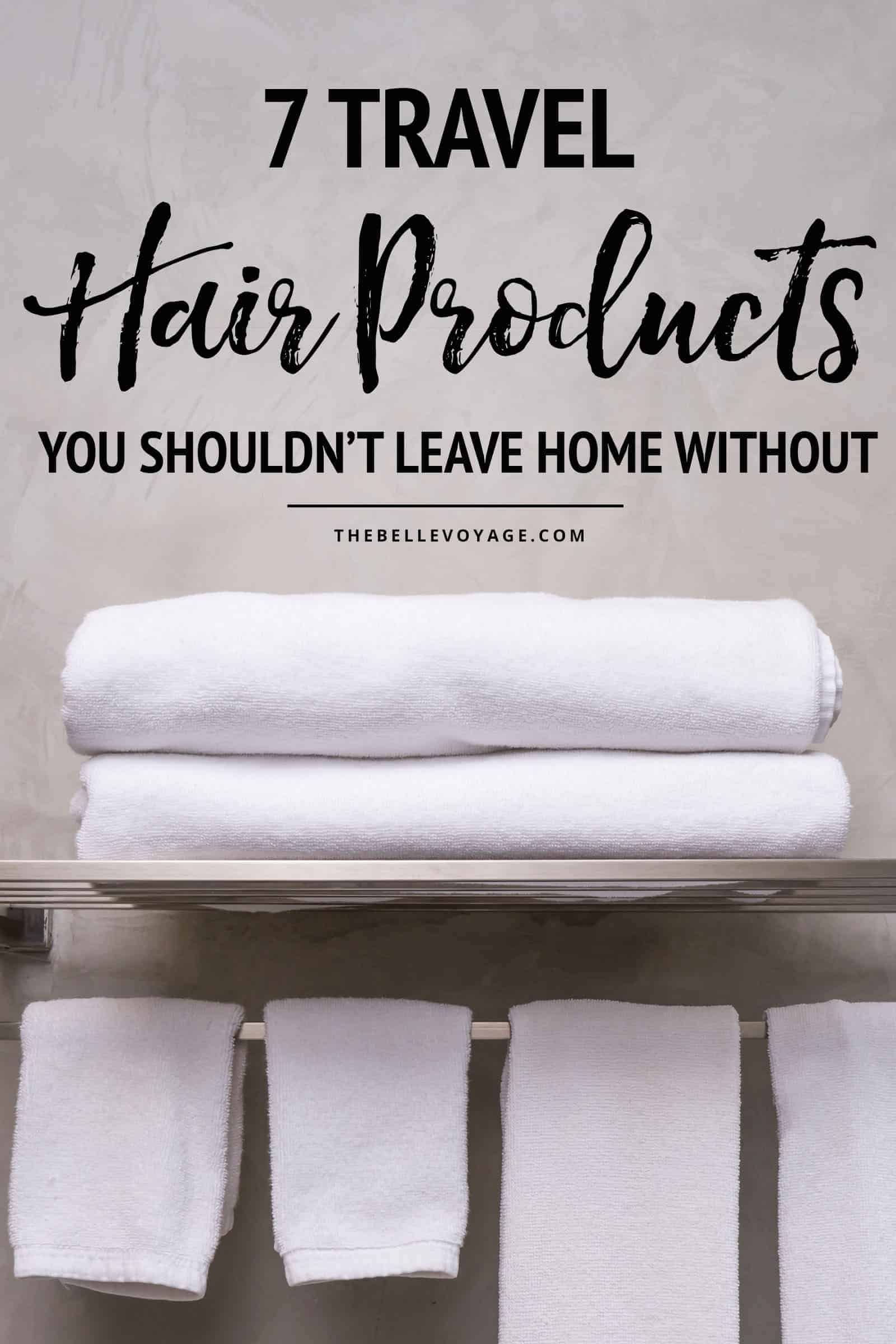 travel size hair products