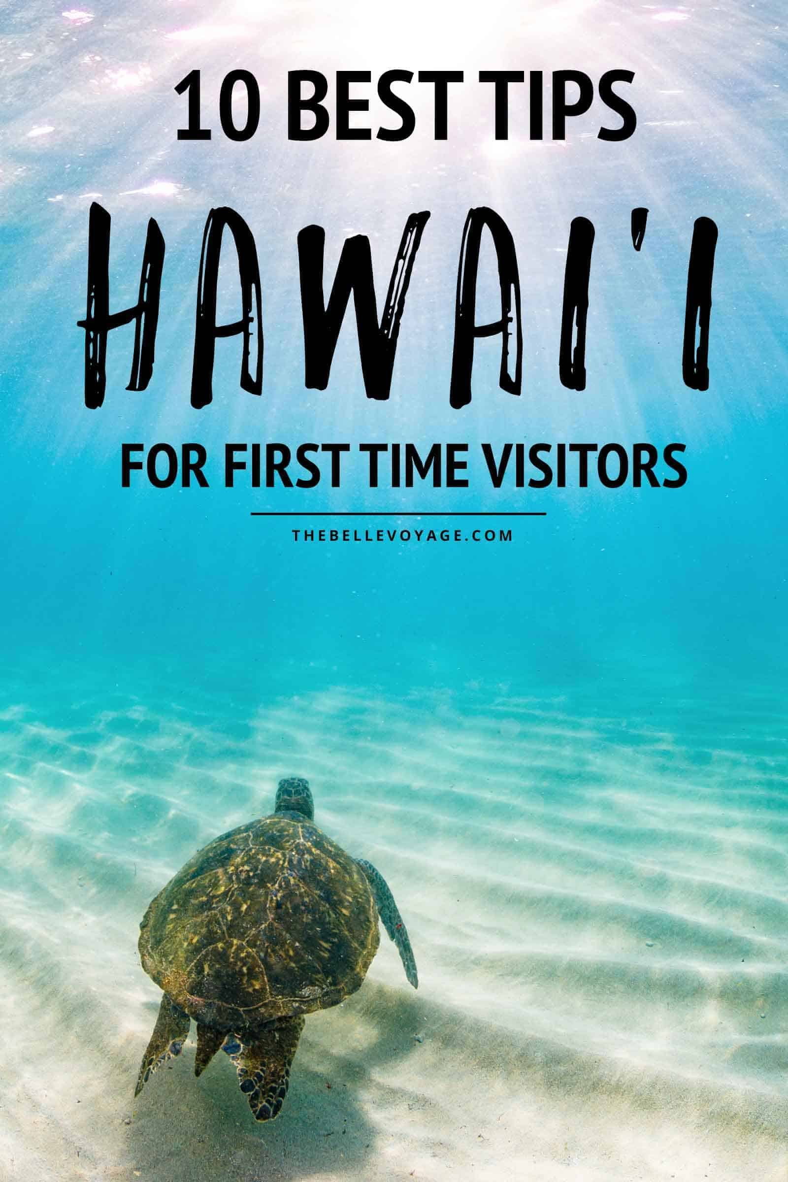 hawaii vacation tips planning
