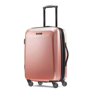 rose gold carry on suitcase