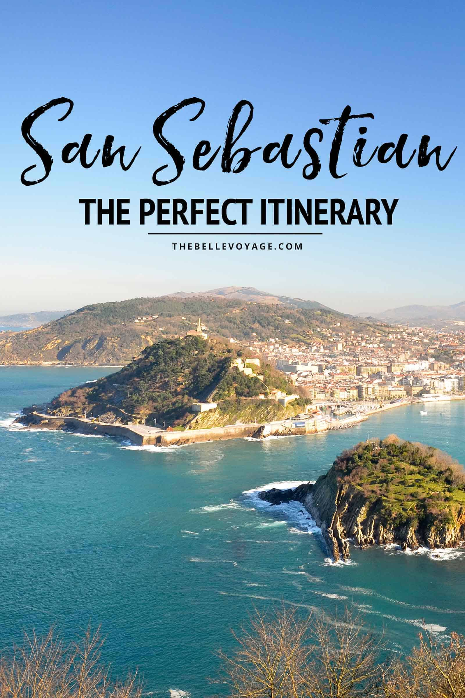san Sebastian itinerary travel guide