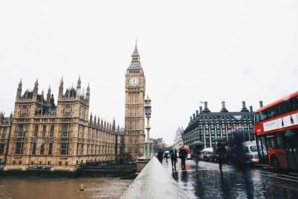 checklist for traveling to London