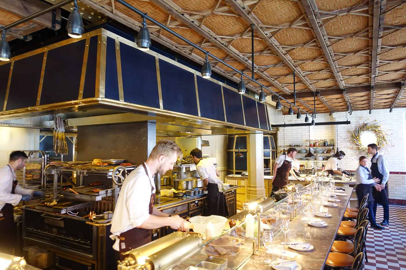chiltern firehouse kitchen