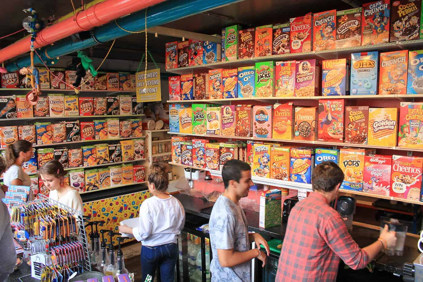 cereal killer cafe is a good Instagram photo spot in London